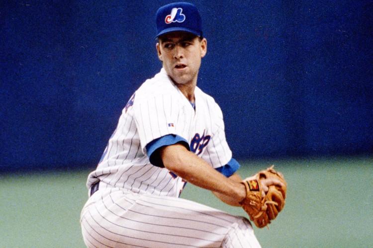Denis Boucher dans l'uniforme des Expos en 1993.... (Photo: Michel Gravel, La Presse)
