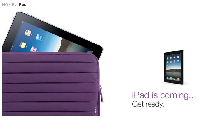 L'étui pour iPad de Belkin...