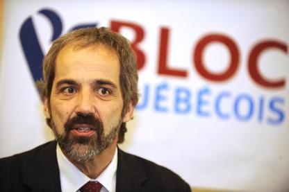 Le député bloquiste  Daniel Paillé a saisi... (Imacom, Maxime Picard)