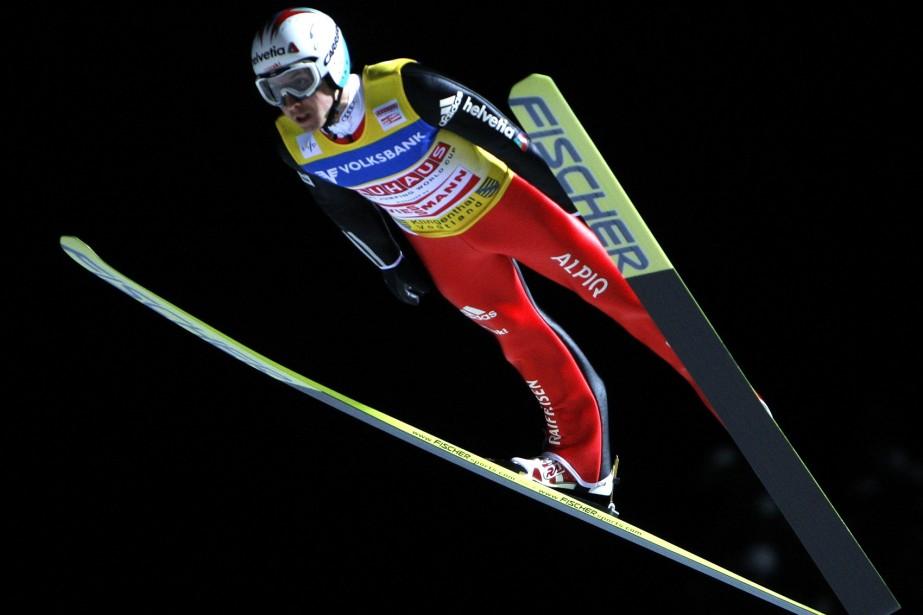 Simon Ammann... (Photo: AFP)