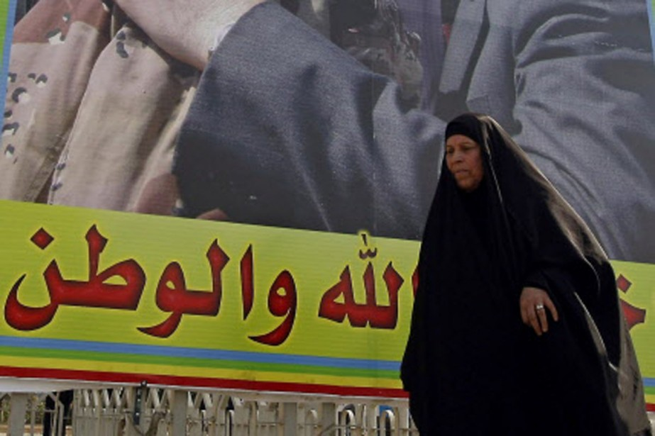 Les Irakiens devraient être appelés aux urnes le... (Photo AFP)