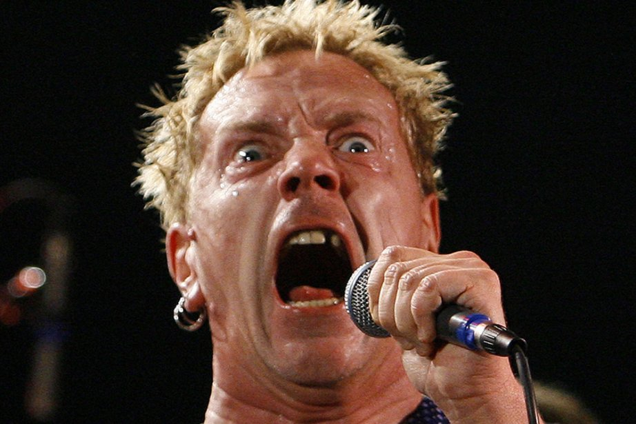 Johnny Rotten, chanteur des Sex Pistols.... (Photo: Reuters)