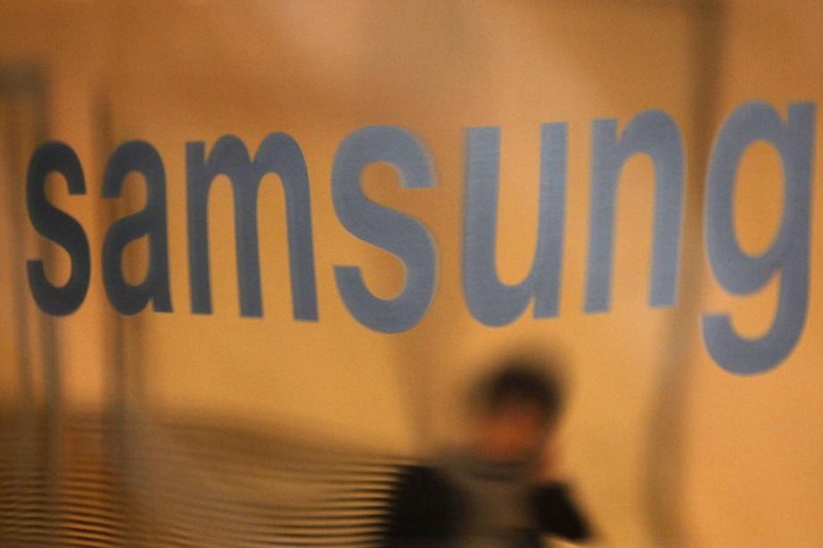 Le logo de Samsung à leur siège social... (Photo: Reuters)