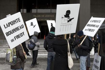 La coalition contre la repression et les abus... (Photo: Robert Skinner, La Presse)