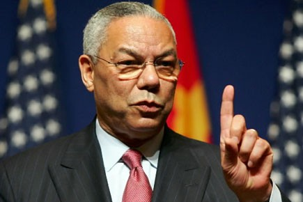 Colin Powell... (Photo: Reuters)