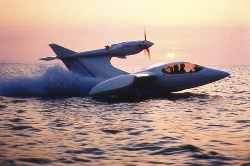 Le nouvel avion d'essai Seawind a fait sa... (Photo fournie par l'entreprise)