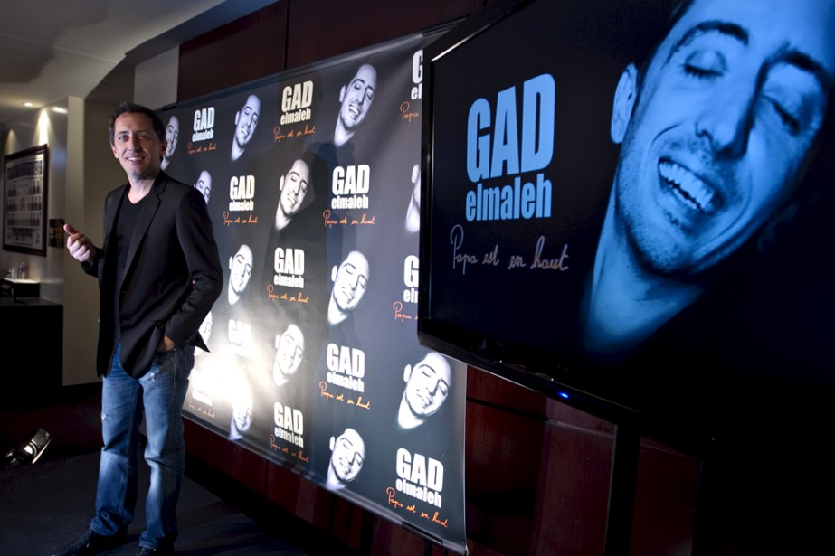Gad Elmaleh... (Photo: Alain Roberge, La Presse)
