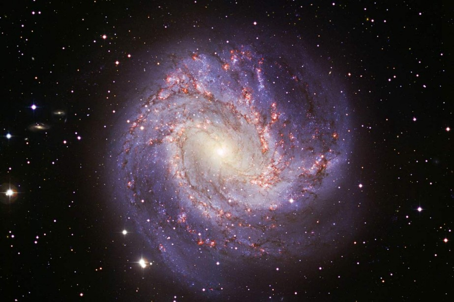 La galaxie Messier 83.... (Archives AFP)