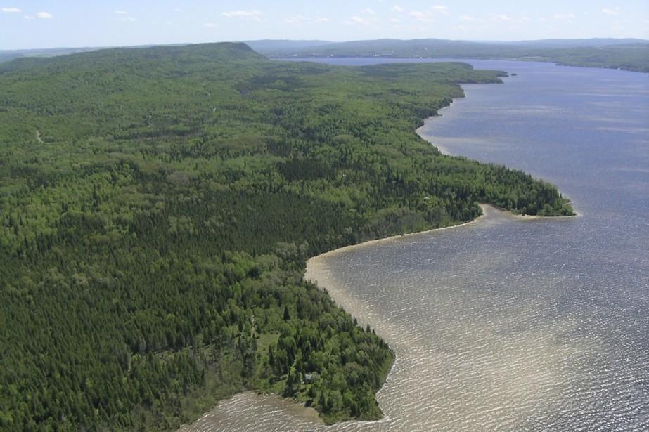Le nouveau parc comprendra une partie importante du... (Photo: fournie par le ministère du développement durable et des parcs)