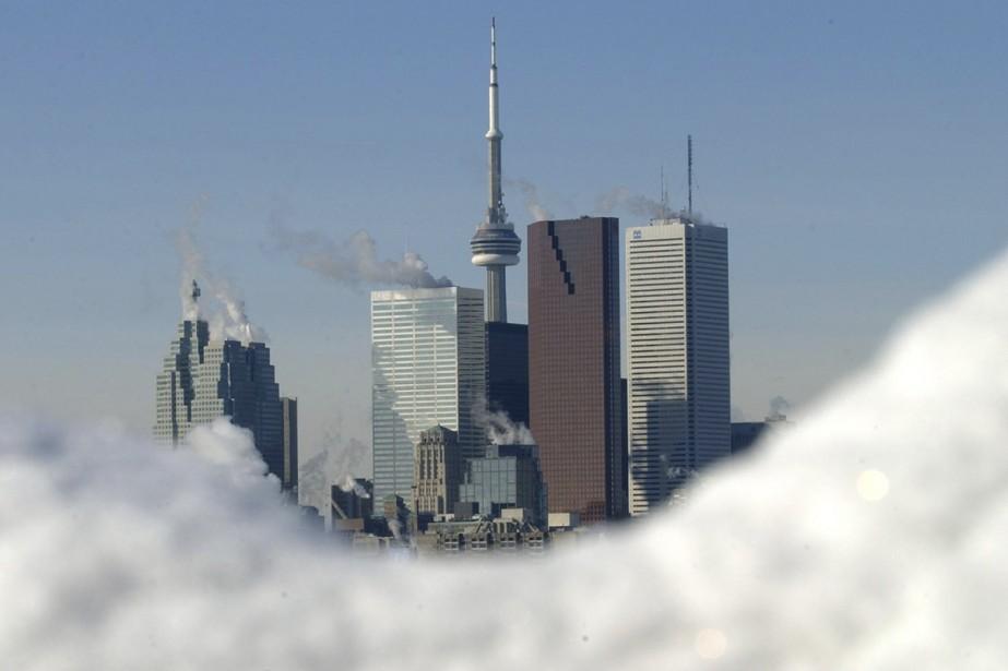 Toronto...l'hiver!... (Photo: AP)