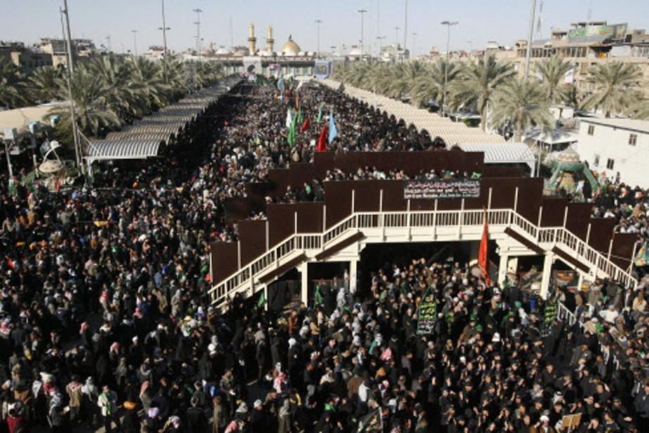 Plus d'un million de personnes ont assisté au... (Photo: Reuters)