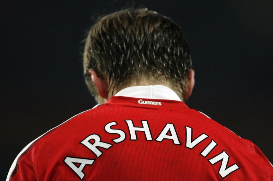 Andrei Arshavin... (Photo: AFP)