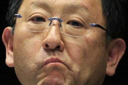 Le PDG de Toyota, Akio Toyoda... (Photo Reuters)