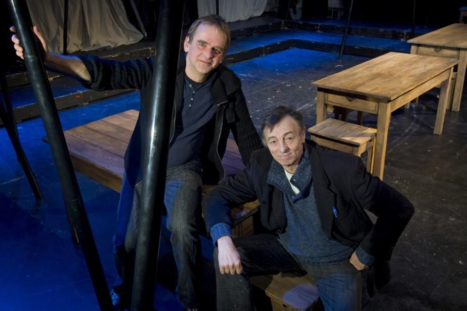 Le metteur en scène Ghyslain Filion et le... (Photo: Alain Roberge, La Presse)