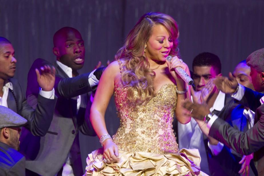 Mariah Carey en spectacle au Centre Bell jeudi... (Photo: André Pichette, La Presse)