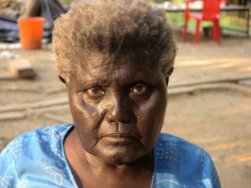 Boa Sr, 85 ans, était la dernière personne... (Photo: AFP)