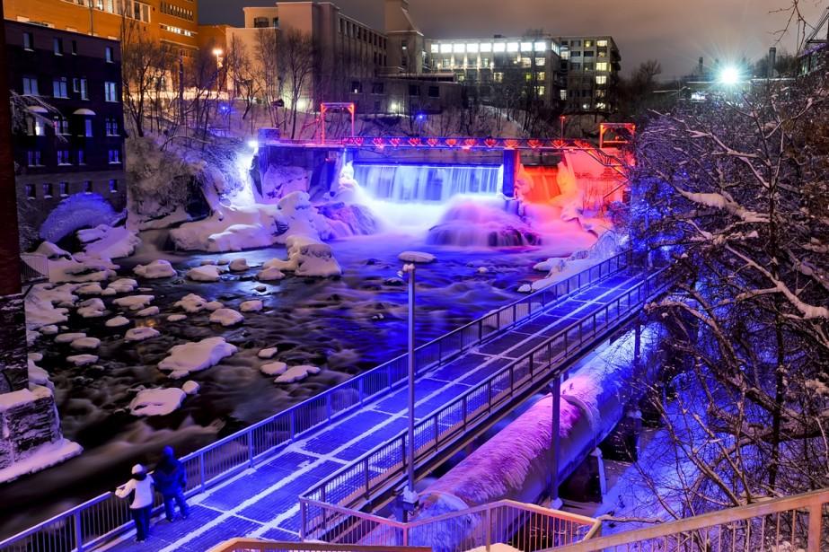 Le plan lumière est la première phase d'un... (Photo: fournie par la ville de Sherbrooke)
