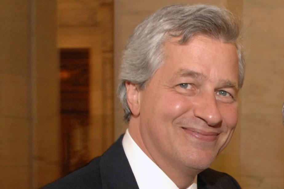 JamieDimon, PDG de JPMorgan Chase... (Photo Bloomberg)