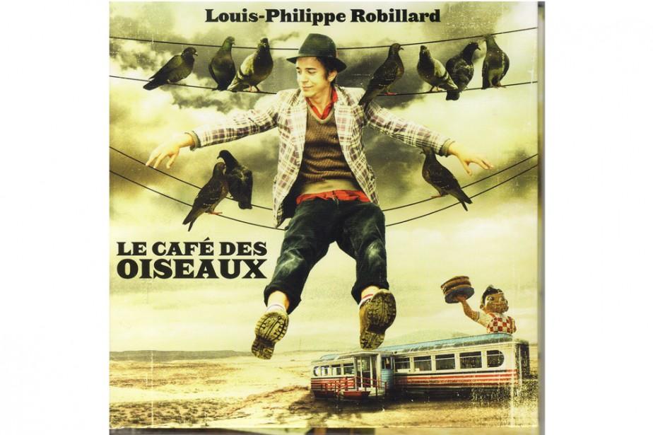 Pochette cd de Louis-Philippe Robillard...