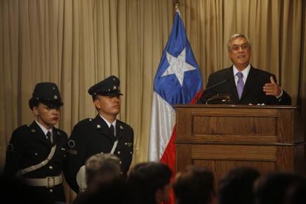 Le président élu du Chili Sebastian Pinera.... (Photo: Roberto Candia, AP)