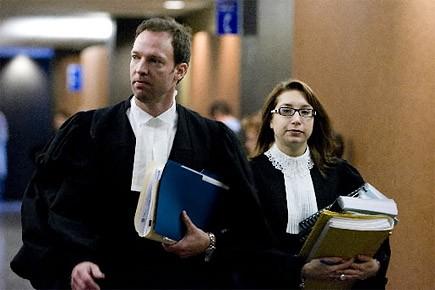 Me Yvan Poulin et Me Sabrina Delli Fraine,... (Photo: François Roy, archives La Presse)