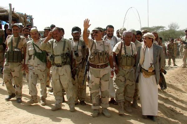 Le commandant de l'armée yéménite au nord du... (Photo AFP)