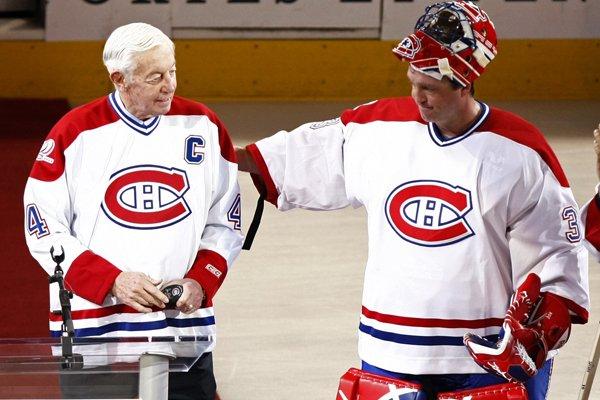 En décembre avec Patrice Roy.... (Photo Reuters)