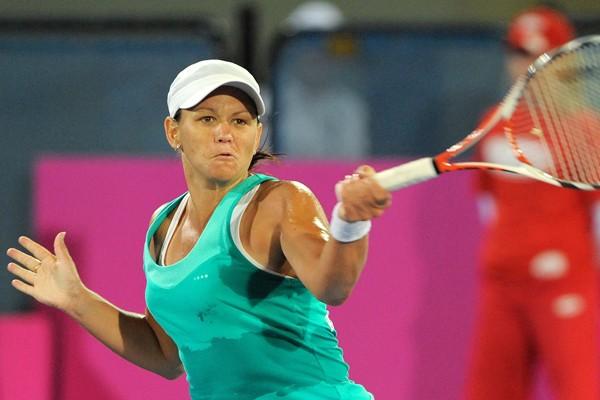 Anabel Medina-Garrigues.... (Photo AFP)