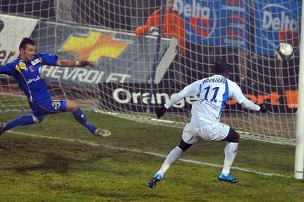 Montpellier, vainqueur à Boulogne-sur-Mer (2-0), est revenu à... (Photo: AFP)