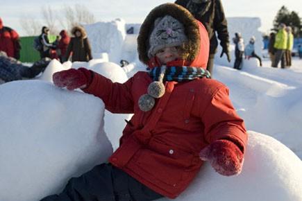 À Montréal, l'activité s'est déroulée sur le site... (Photo: David Boily, La Presse, archives)