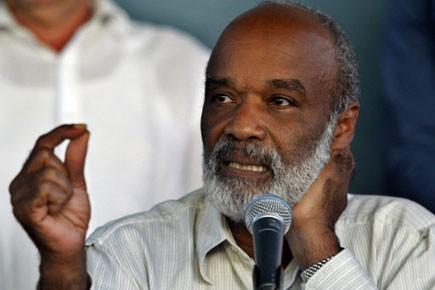 Le président haïtien René Préval.... (Photo: Reuters)