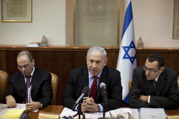 Le Premier ministre israélien Benjamin Netanyahu a réaffirmé... (Photo Reuters)
