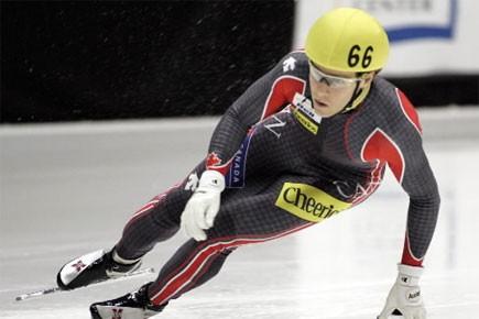 Mathieu Turcotte a confectionné sur mesure les patins... (Photo: Archives AP)