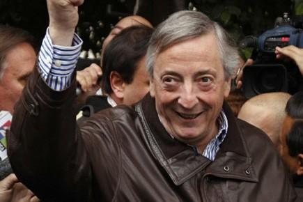 L'ancien président argentin Nestor Kirchner a été opéré... (Photo: Marcos Brindicci, Reuters)