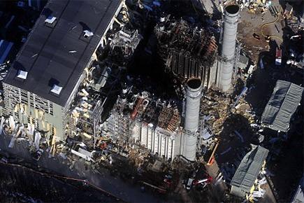 La centrale électrique alimentée au gaz naturel, dont la... (Photo: AP)