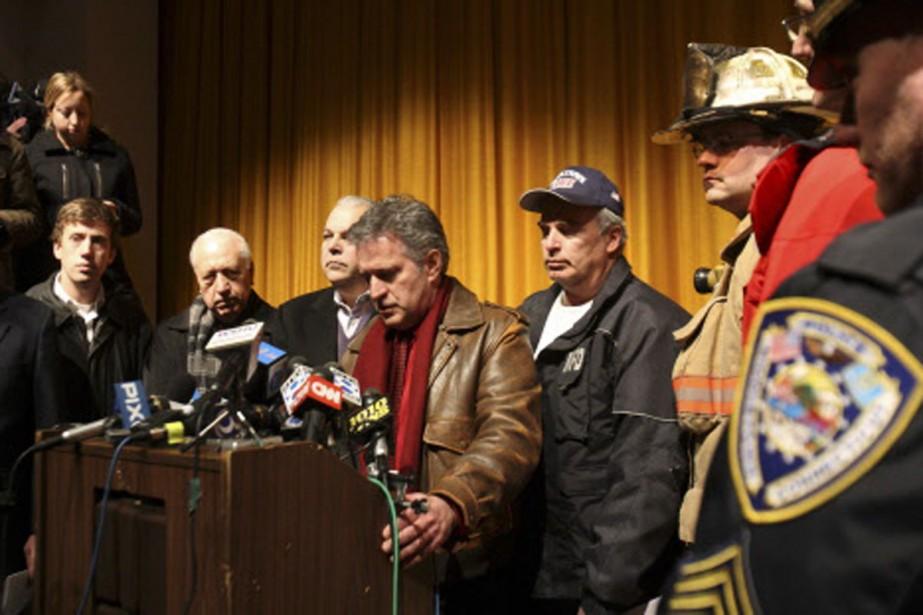 Le maire de Middletown, Sebastian Giuliano, a comparé... (Photo: Reuters)