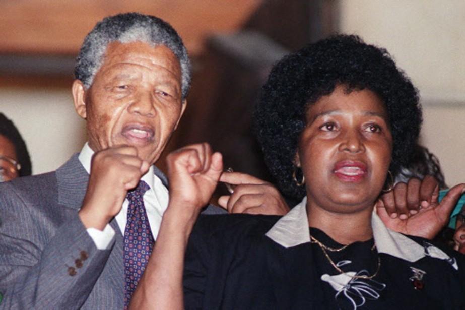 Le 11 février 1990, le «détenu 46664» est... (Photo: archives AFP)