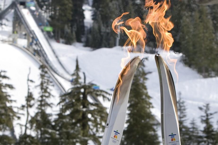 Le relais de la flamme des JO de Vancouver, le plus long de... (Photo: PC)