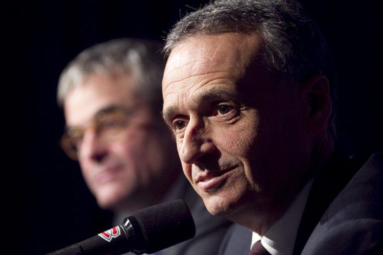 Le nouveau directeur général du Canadien, Pierre Gauthier.... (Photo: André Pichette, La Presse)