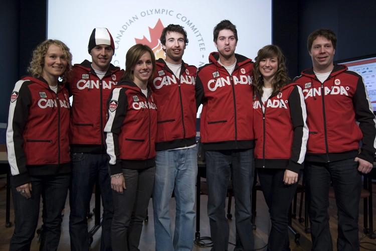 Les bosseurs de l'équipe canadienne de ski acrobatique:... (Photo: PC)