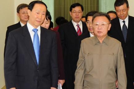 Wang Jiarui, qui dirige le département international du... (Photo: AP)