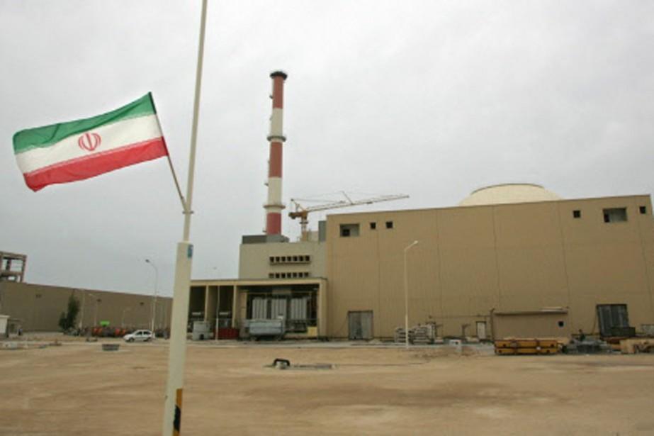 La centrale de Bushehr, en Iran.... (Photo: archives AFP)