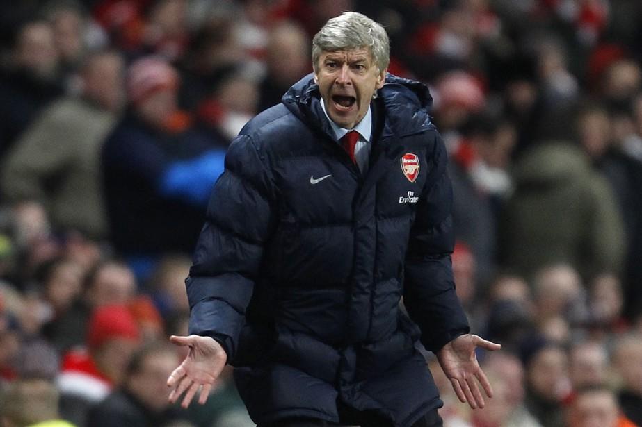 L'entraîneur d'Arsenal, Arsène Wenger... (Photo: AFP)