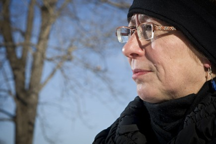 Danielle Marchand a subi de la violence de... (Photo: David Boily, La Presse)