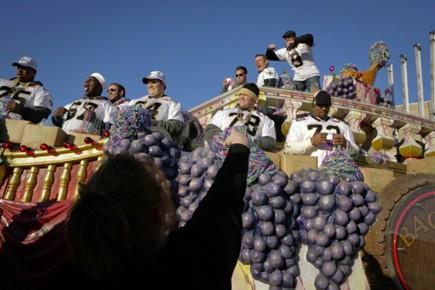 Seul un défilé des vainqueurs du Super Bowl pouvait jeter de... (Photo: Reuters)