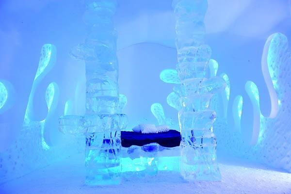 Toutes les suites de l'Hôtel de glace ont... (Photo: Steve Deschenes, Le Soleil)