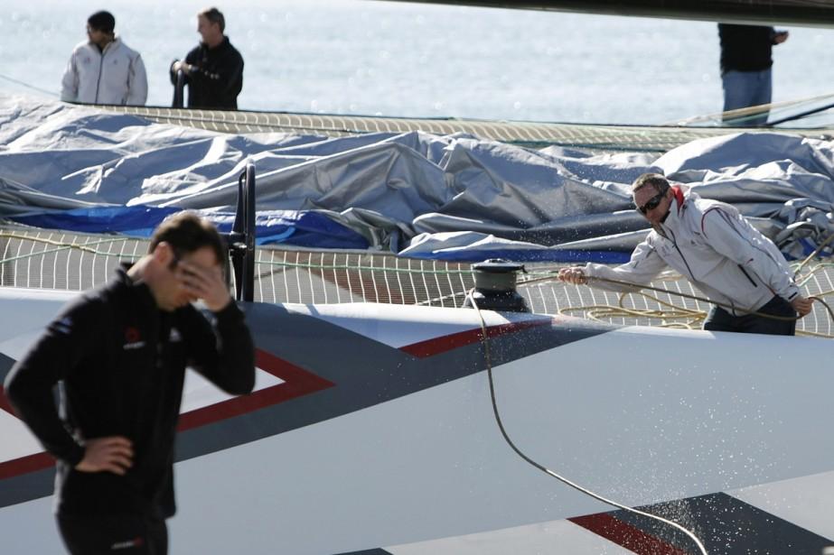 «Pas de course aujourd'hui», a lancé dans la... (Photo: Reuters)