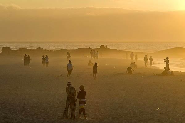 Une plage de l'Afrique du Sud.... (Photo: AFP)