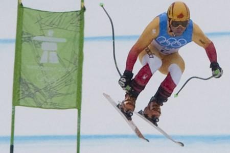 Après 42 skieurs, le Canadien Robbie Dixon avait... (Photo: PC)