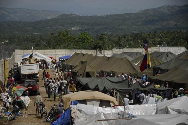 Camps de réfugiés.... (Photo AFP)